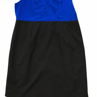 Primary Photo - BRAND: CALVIN KLEIN STYLE: DRESS SHORT SLEEVELESS COLOR: ROYAL BLUE SIZE: 2X SKU: 232-232123-4402
