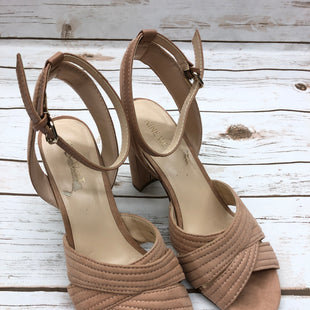Primary Photo - BRAND: NINE WEST SHOES STYLE: SANDALS LOW COLOR: TAN SIZE: 8 SKU: 232-23280-44494