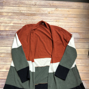 Primary Photo - BRAND:    CLOTHES MENTOR STYLE: SWEATER CARDIGAN LIGHTWEIGHT COLOR: MULTI SIZE: 2X SKU: 232-23280-50398