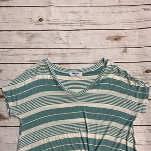 Primary Photo - BRAND: DOUBLE ZERO STYLE: TOP SHORT SLEEVE BASIC COLOR: STRIPED/CREAM AND MINTSIZE: M SKU: 232-232123-1587