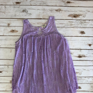 Primary Photo - BRAND: UMGEE STYLE: DRESS SHORT SLEEVELESS COLOR: LAVENDER SIZE: M SKU: 232-23290-41588LACE DETAILS. BUTTON IN BACK. LIGHTER PURPLE THAN SHOWN.