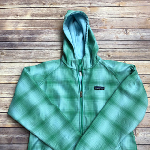 Primary Photo - BRAND: PATAGONIA STYLE: ATHLETIC JACKET COLOR: GREEN SIZE: L SKU: 232-23290-49882