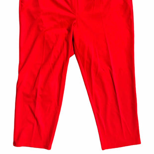 Primary Photo - BRAND:    CLOTHES MENTOR STYLE: PANTS COLOR: RED SIZE: 2X OTHER INFO: HOPE & HARLOW - SKU: 232-232118-7082