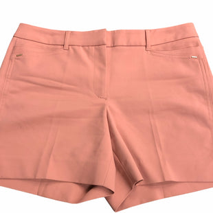 Primary Photo - BRAND: WHITE HOUSE BLACK MARKET STYLE: SHORTS COLOR: SALMON SIZE: 4 SKU: 232-232123-6374