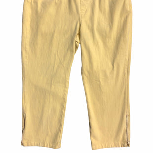 Primary Photo - BRAND:    CLOTHES MENTOR STYLE: PANTS COLOR: YELLOW SIZE: 20 SKU: 232-23280-53454