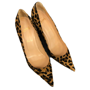 Primary Photo - BRAND: CHRISTIAN LOUBOUTIN STYLE: SHOES LOW HEEL COLOR: LEOPARD PRINT SIZE: 9.5 SKU: 232-23212-23760. BRAND NEW, NEVER WORN.