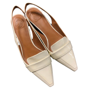 Primary Photo - BRAND: TORY BURCH STYLE: SHOES FLATS COLOR: WHITE SIZE: 7 SKU: 232-23219-28820