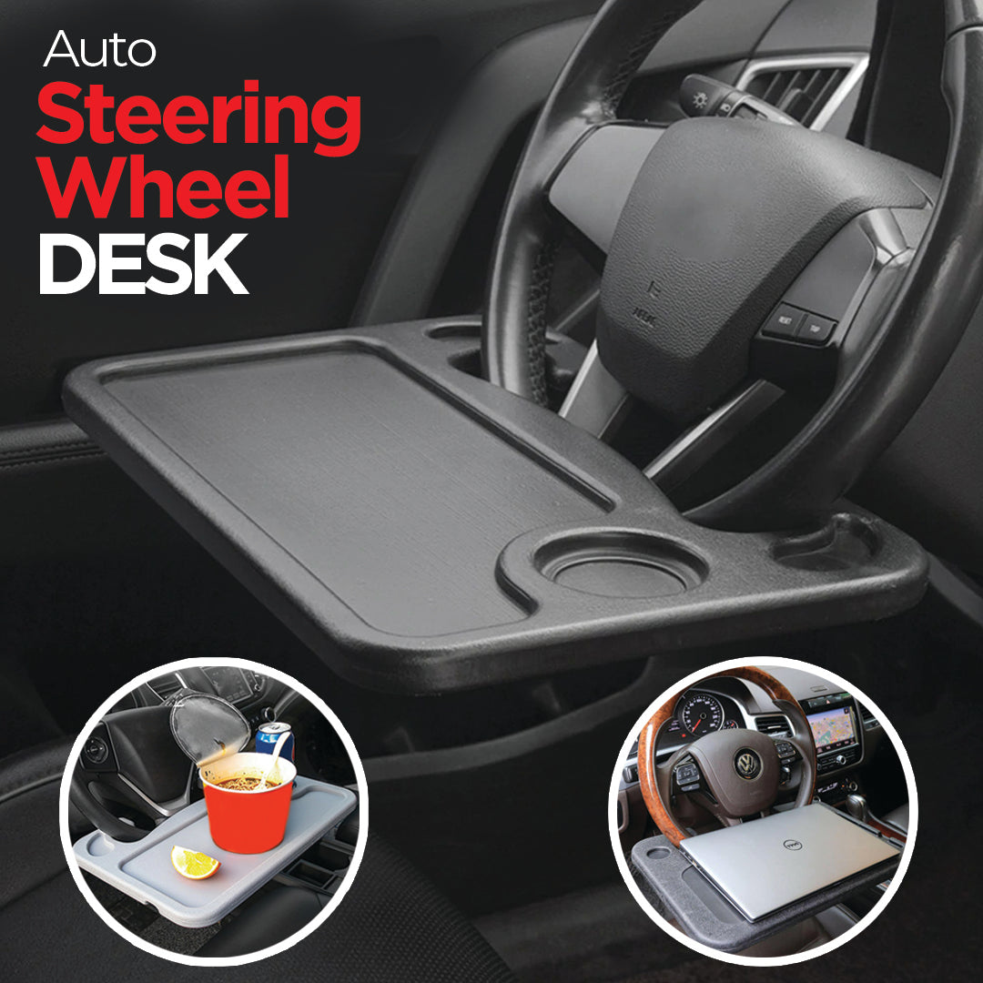 Auto Steering Wheel Desk