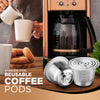 Stainless Steel Reusable Coffee Pod Set