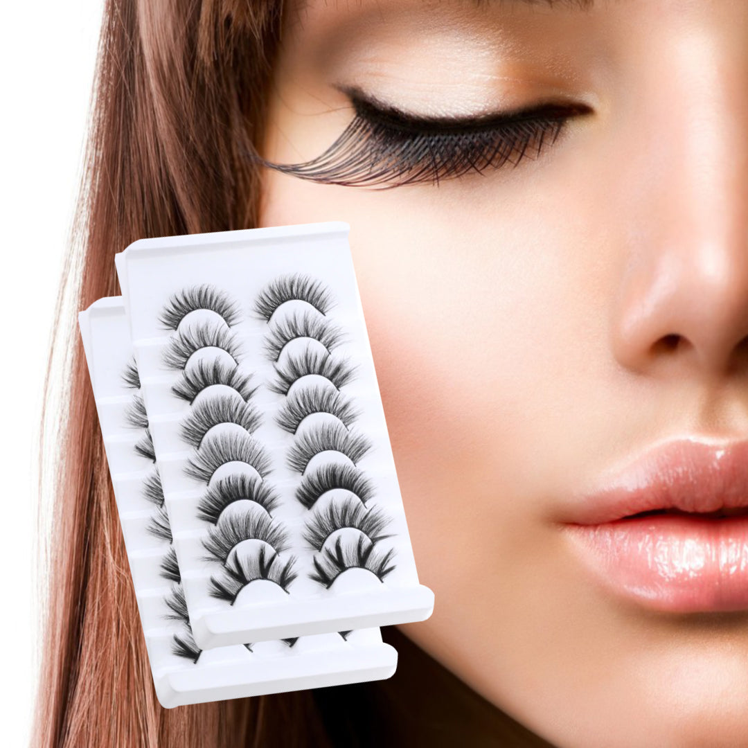 Adhesive False Eyelashes