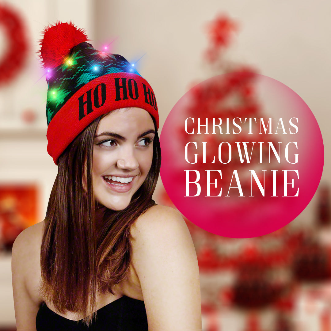 Christmas Glowing Beanie