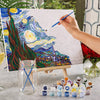 DIY Van-Gogh Paint by Number Kit