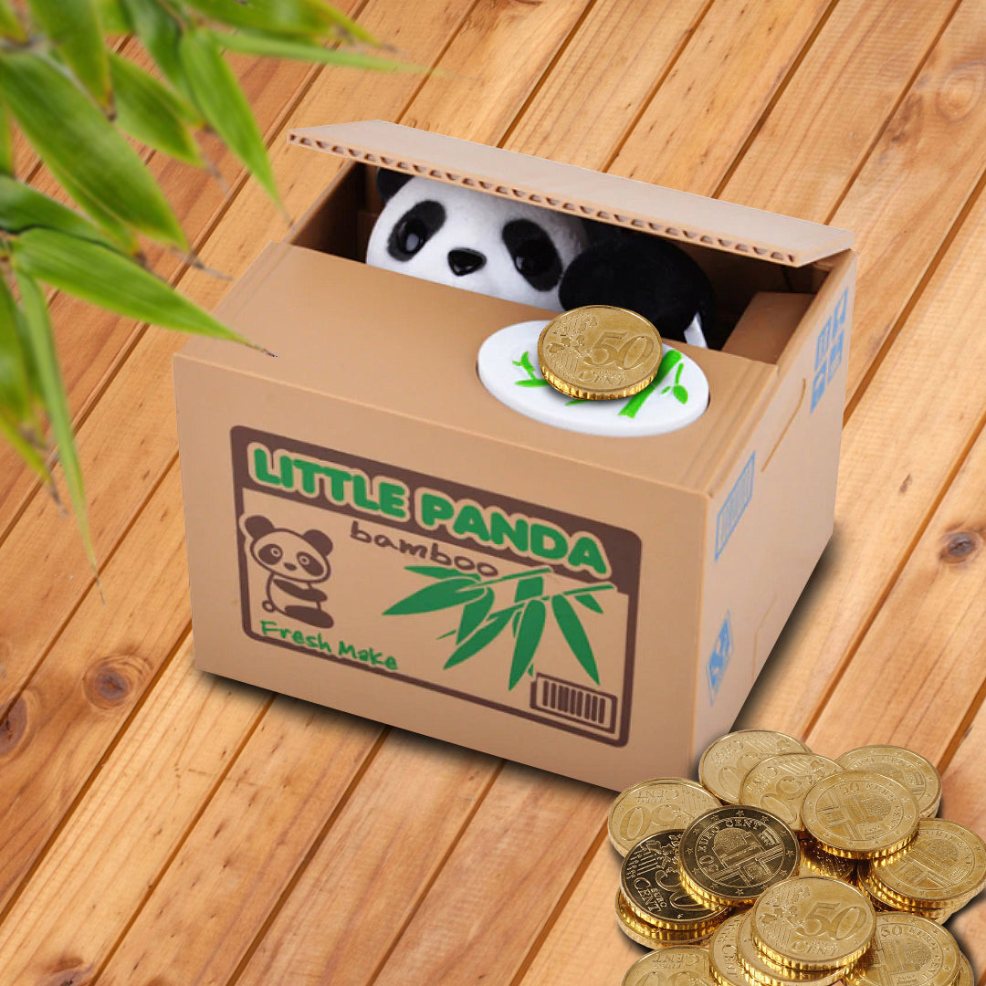 Little Panda Coin Box