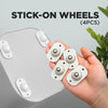 Stick-On Wheels (4 PCS)