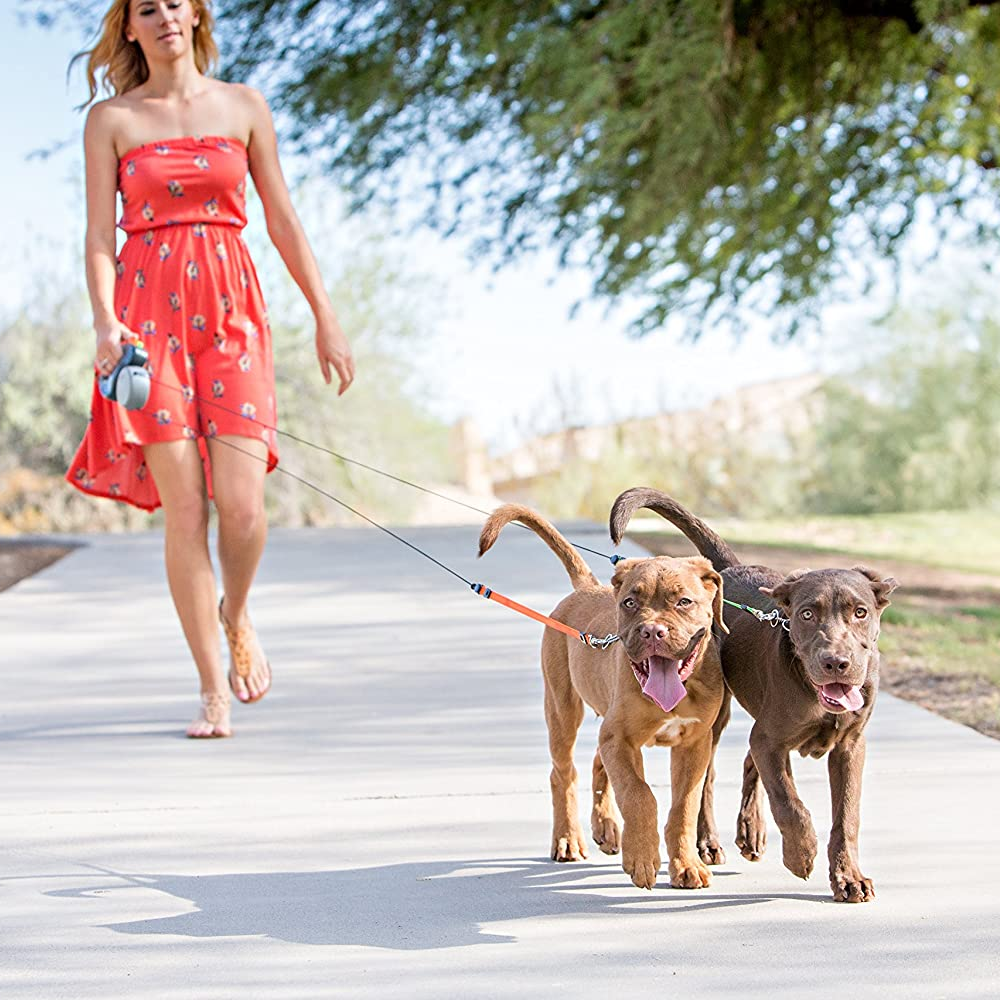 Retractable Dog Leash for Two
