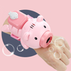 Bubble-Blowing Pig Bracelet