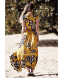 Golden Lillies Maxi Kleid | Golden Lillies Maxi Dress