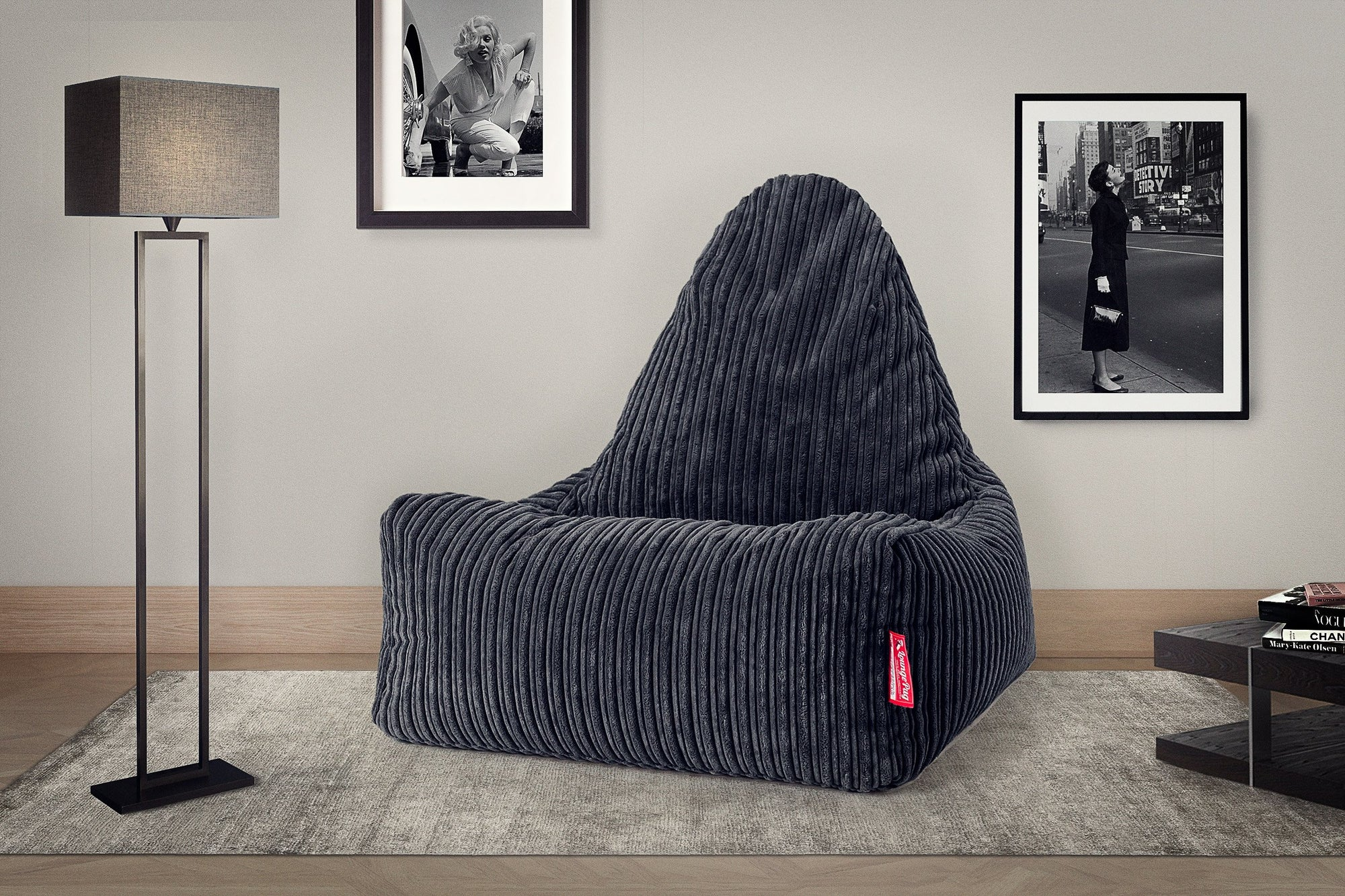 Scandi Lounger Bean Bag