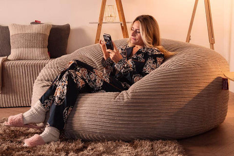 Mega Mammoth Bean Bag Sofa