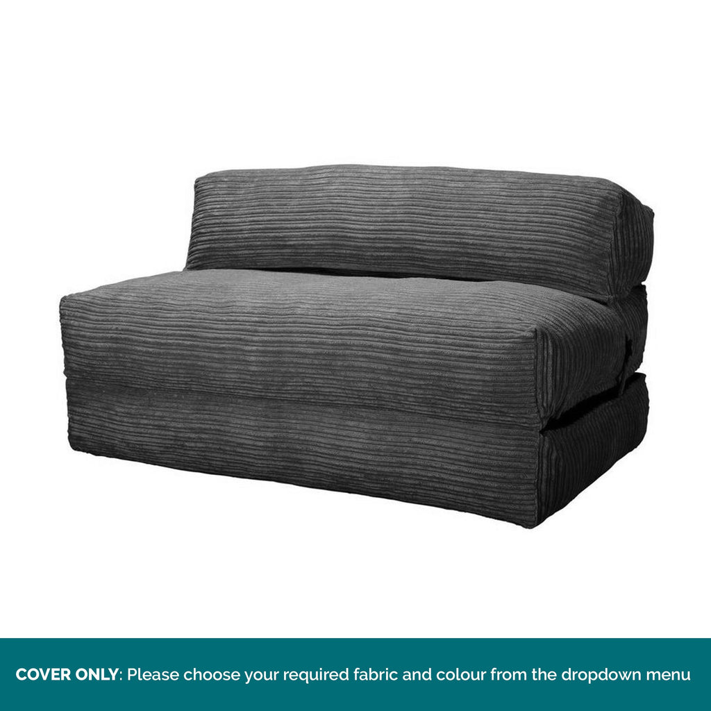 Avery-Futon-Chair-Bed-Double-COVER-ONLY-Replacement-/-Spares_1