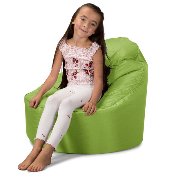 SmartCanvas™-Children's-Comfy-Padded-Bean-Bag-Chair-Lime-Green_1