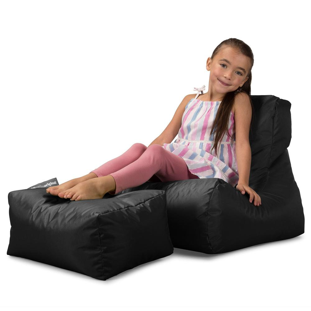 SmartCanvas™-Children's-Lounger-Bean-Bag-Black_1