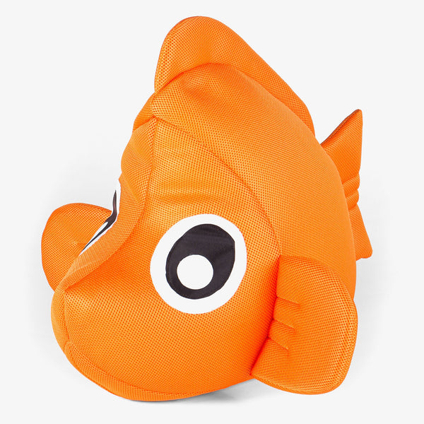 SmartCanvas-Childrens-Clownfish-Pool-Toy-Bean-Bag-Orange_1