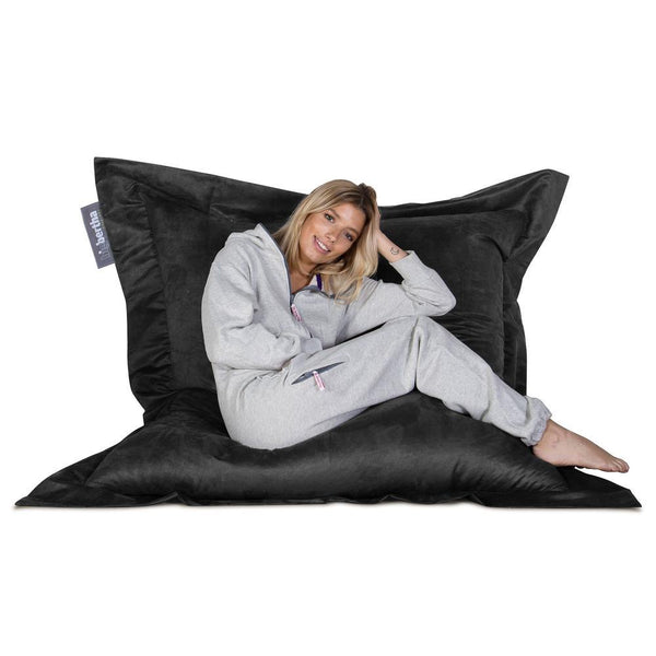 Suede-XXL-Giant-Bean-Bag-Black_1