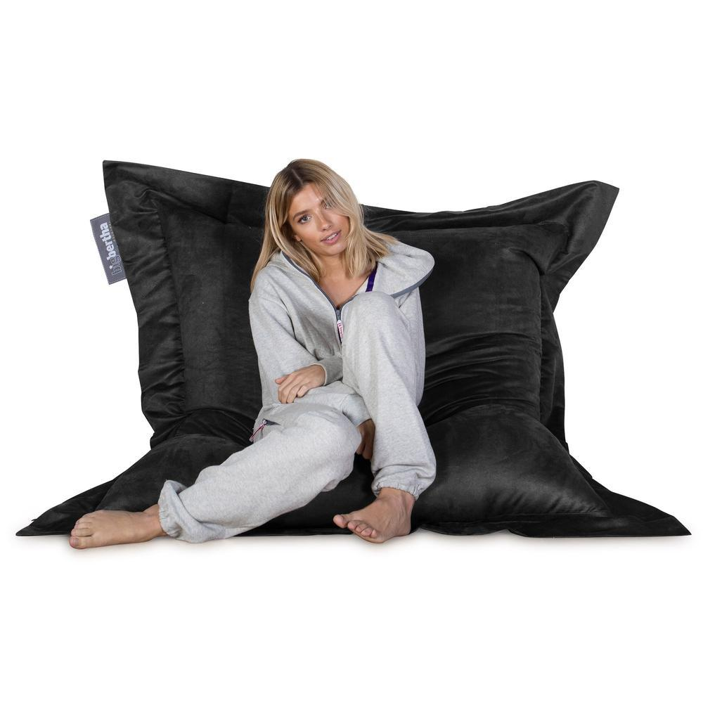Suede-XXL-Giant-Bean-Bag-Black_3