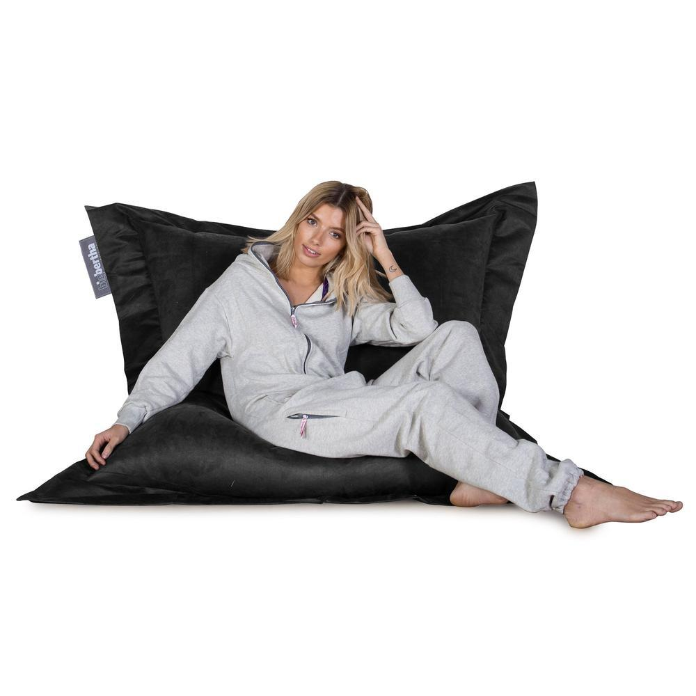 Suede-XXL-Giant-Bean-Bag-Black_6