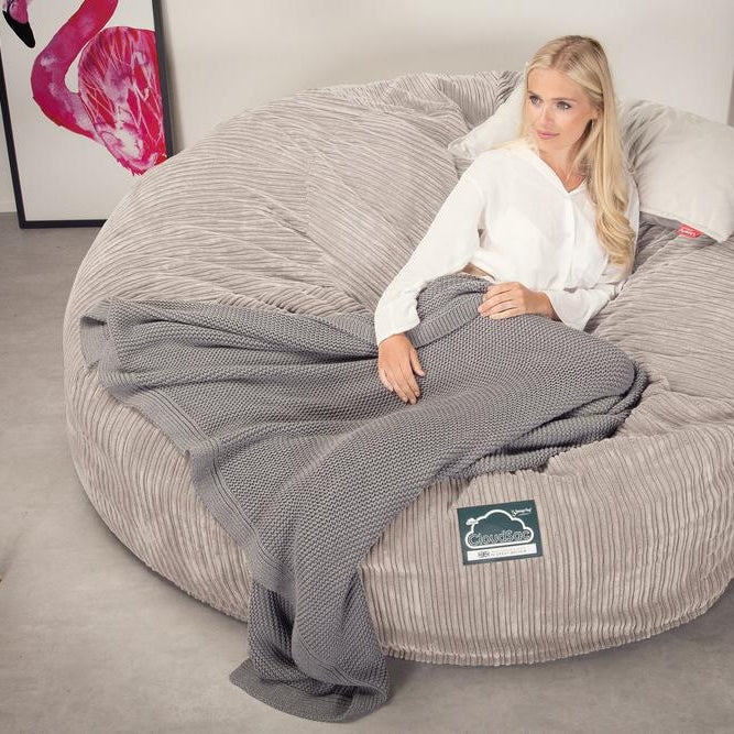 CloudSac-3000-XXL-A-King-Sized-Memory-Foam-Bean-Bag-Sofa-Cord-Mink_2