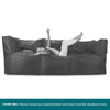 SmartCanvas™-3-Seater-Modular-Sofa-Bean-Bag-COVER-ONLY-Replacement-/-Spares_1