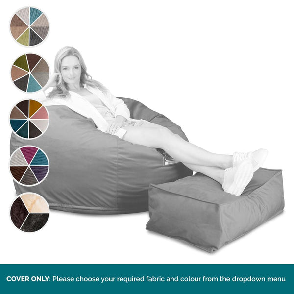 CloudSac-510-XL-X-Large-Bean-Bag-(NEW-DESIGN)-COVER-ONLY-Replacement-/-Spares_1