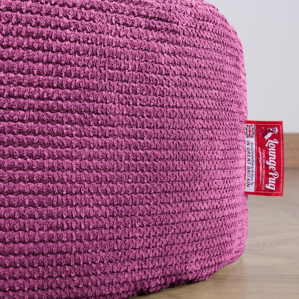Lounge Pug Pink Large Bean Bag For Adults Giant Beanbag Uk