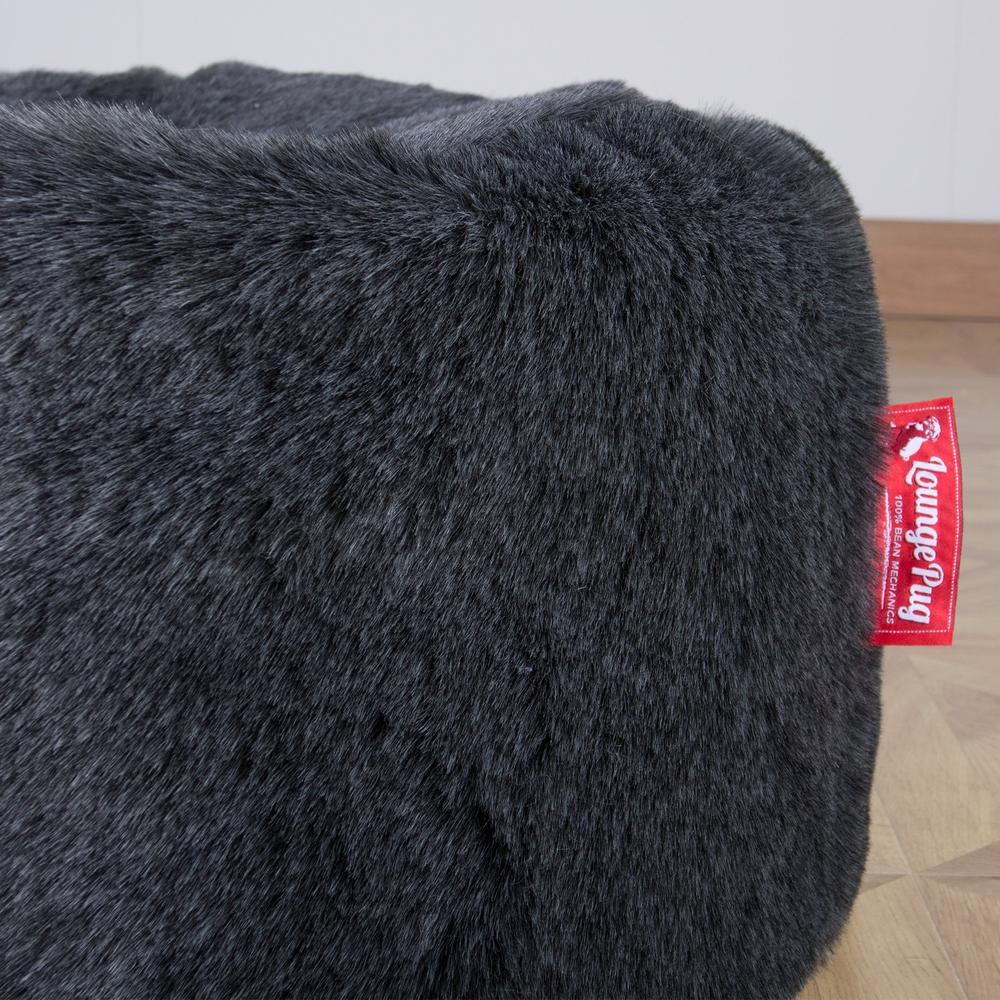 Classic-Sofa-Bean-Bag-Fluffy-Faux-Fur-Badger-Black_6