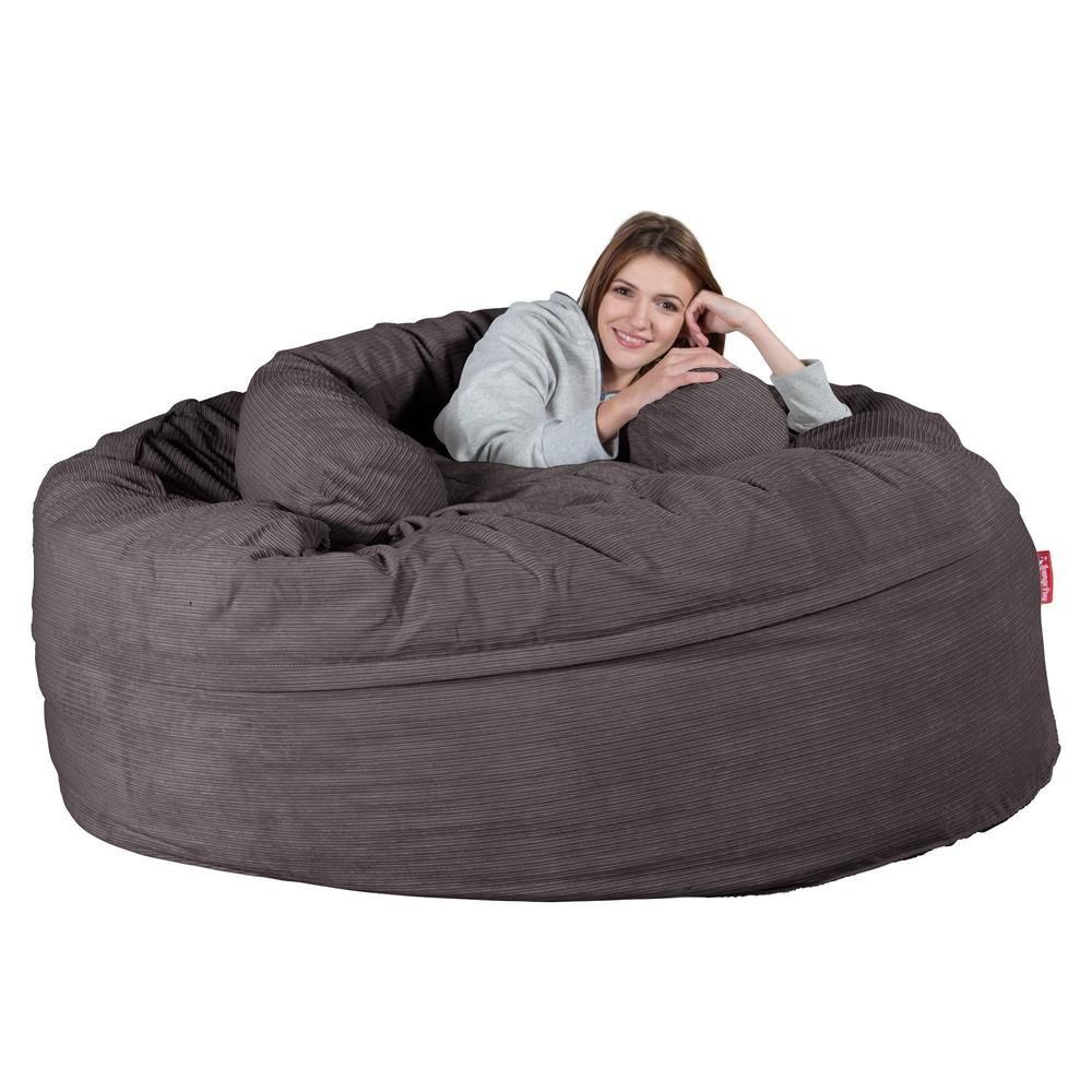 XXL-Cuddle-Cushion-Pinstripe-Graphite-Grey_4