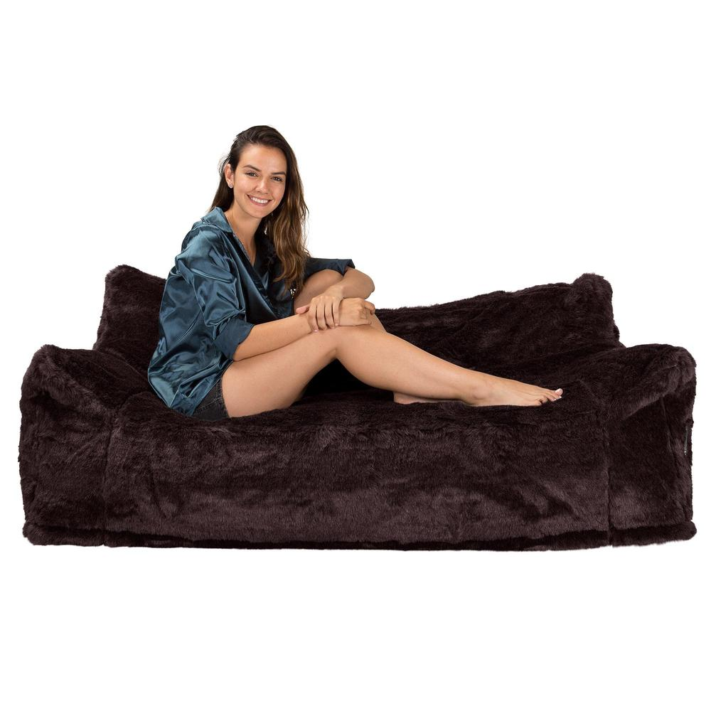 CloudSac-1200-Memory-Foam-Bean-Bag-Sofa-Fluffy-Faux-Fur-Brown-Bear_3