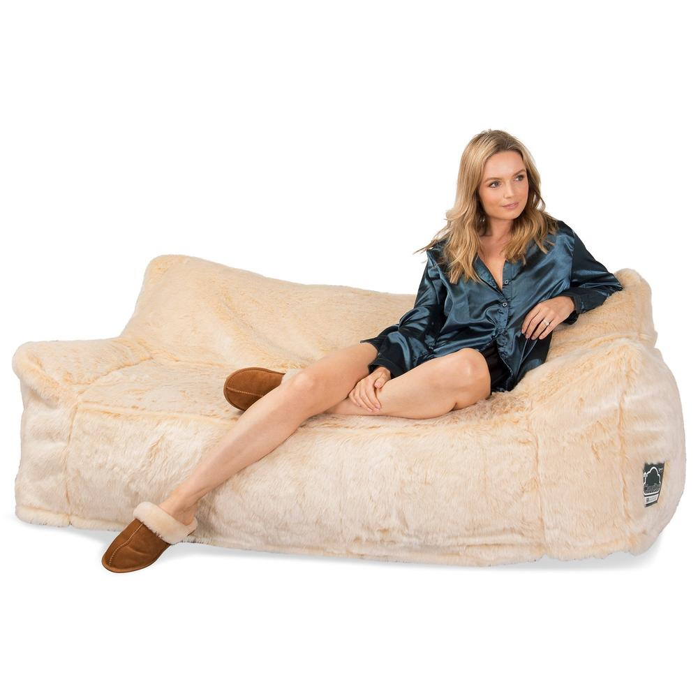 CloudSac-1200-Memory-Foam-Bean-Bag-Sofa-Fluffy-Faux-Fur-White-Fox_3