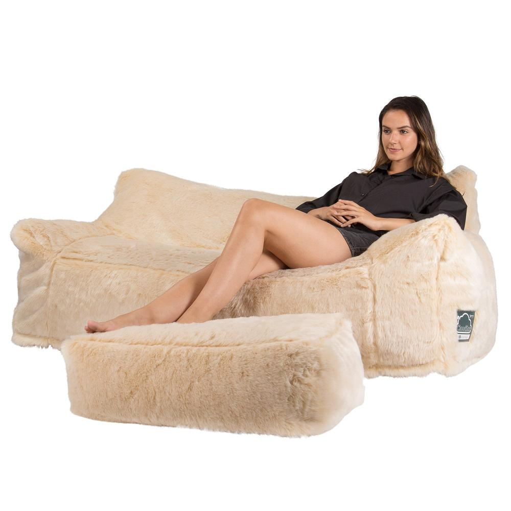 CloudSac-1200-Memory-Foam-Bean-Bag-Sofa-Fluffy-Faux-Fur-White-Fox_4