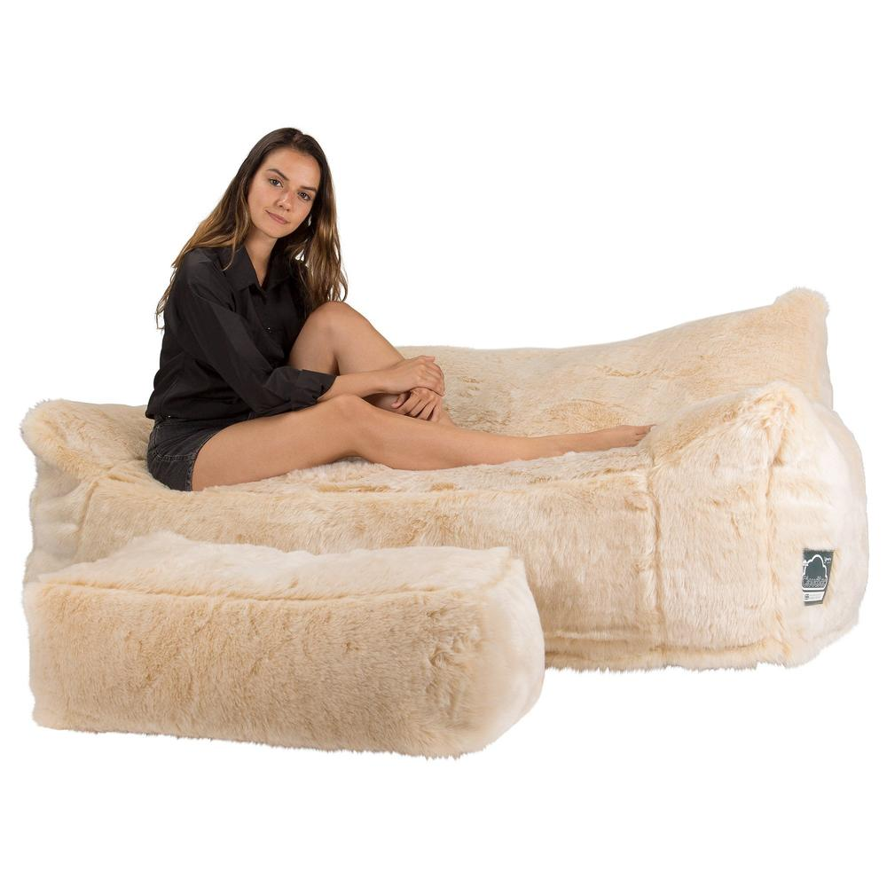CloudSac-1200-Memory-Foam-Bean-Bag-Sofa-Fluffy-Faux-Fur-White-Fox_1