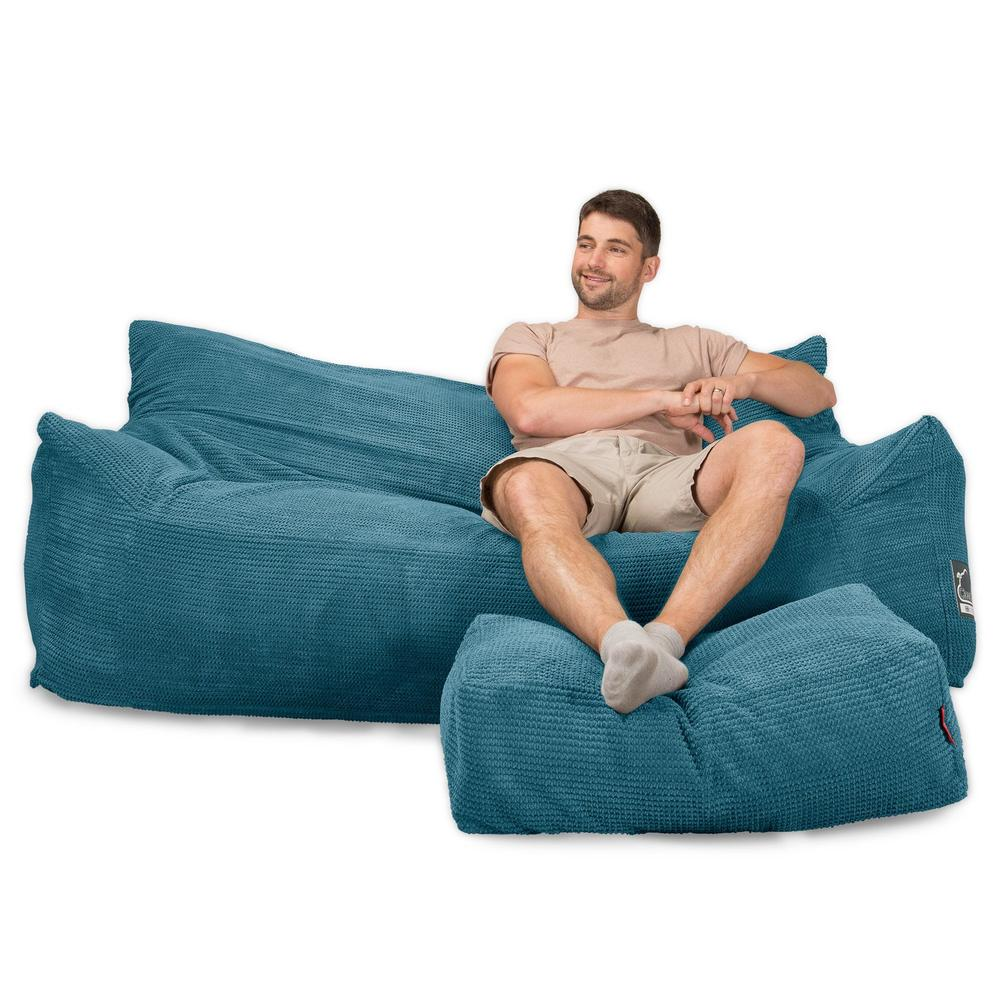 CloudSac-1200-Memory-Foam-Bean-Bag-Sofa-Pom-Pom-Aegean-Blue_1