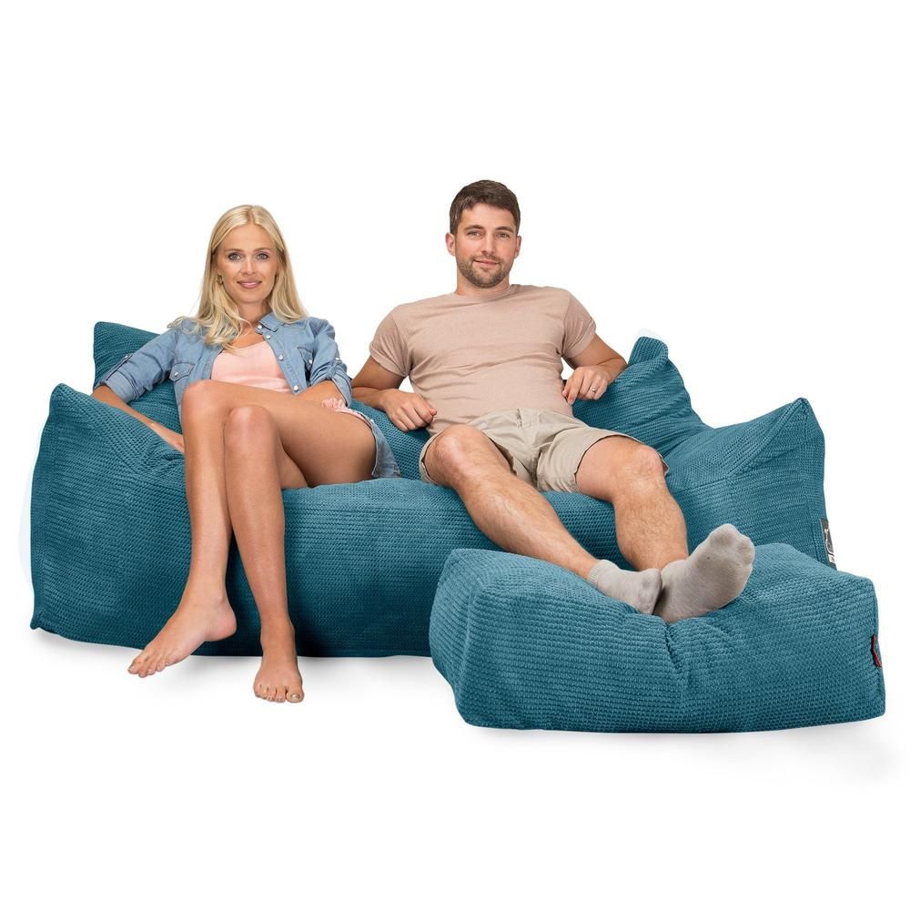 CloudSac-1200-Memory-Foam-Bean-Bag-Sofa-Pom-Pom-Aegean-Blue_3