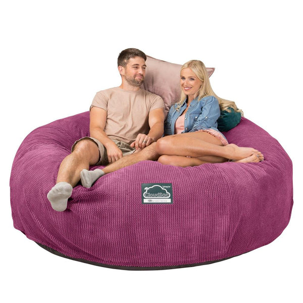 CloudSac-3000-XXL-A-King-Sized-Memory-Foam-Bean-Bag-Sofa-Pom-Pom-Pink_1