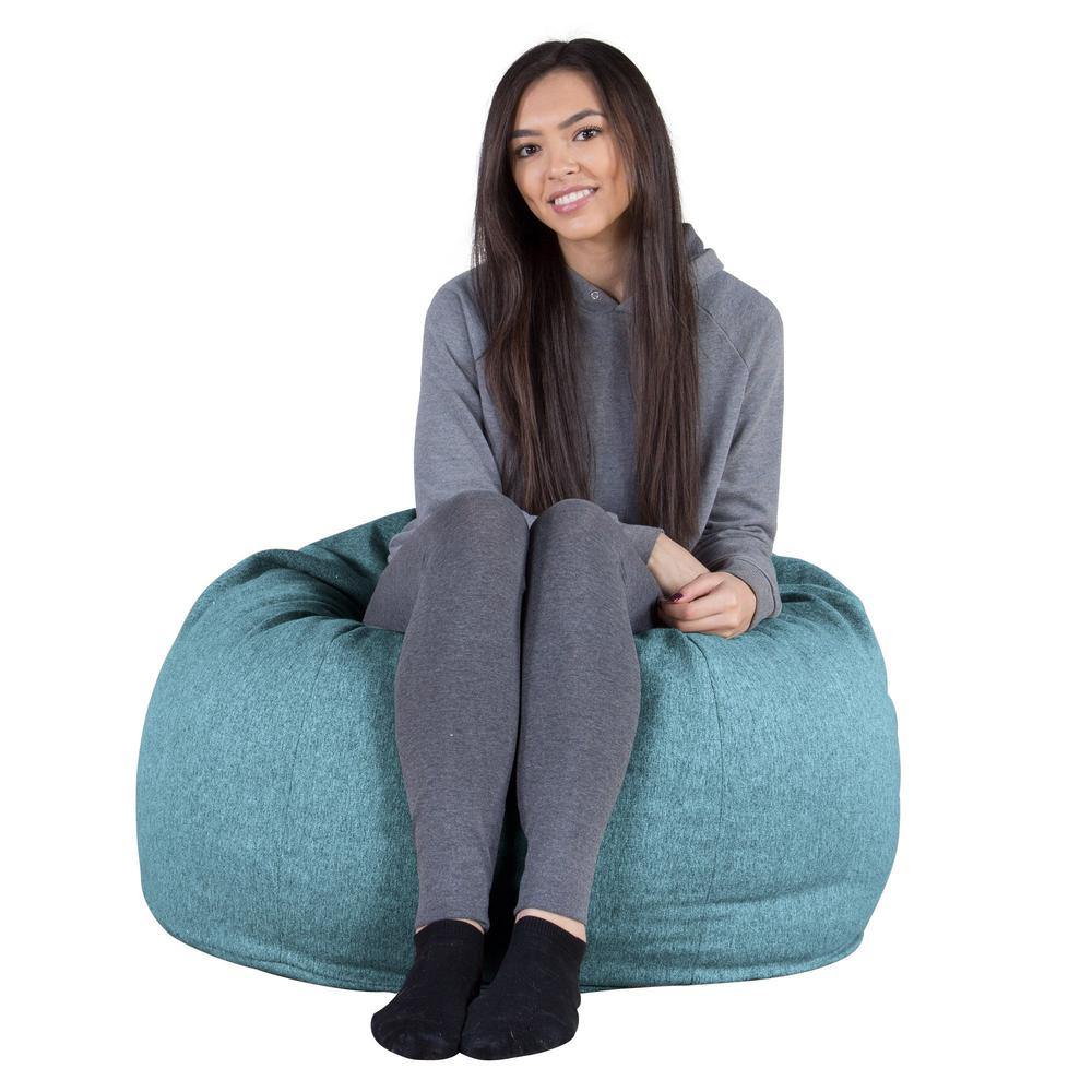 "CLOUDSAC-""The-Classic"",-(350-L)-Memory-Foam-Bean-Bag-Interalli-Wool-Aqua_4"