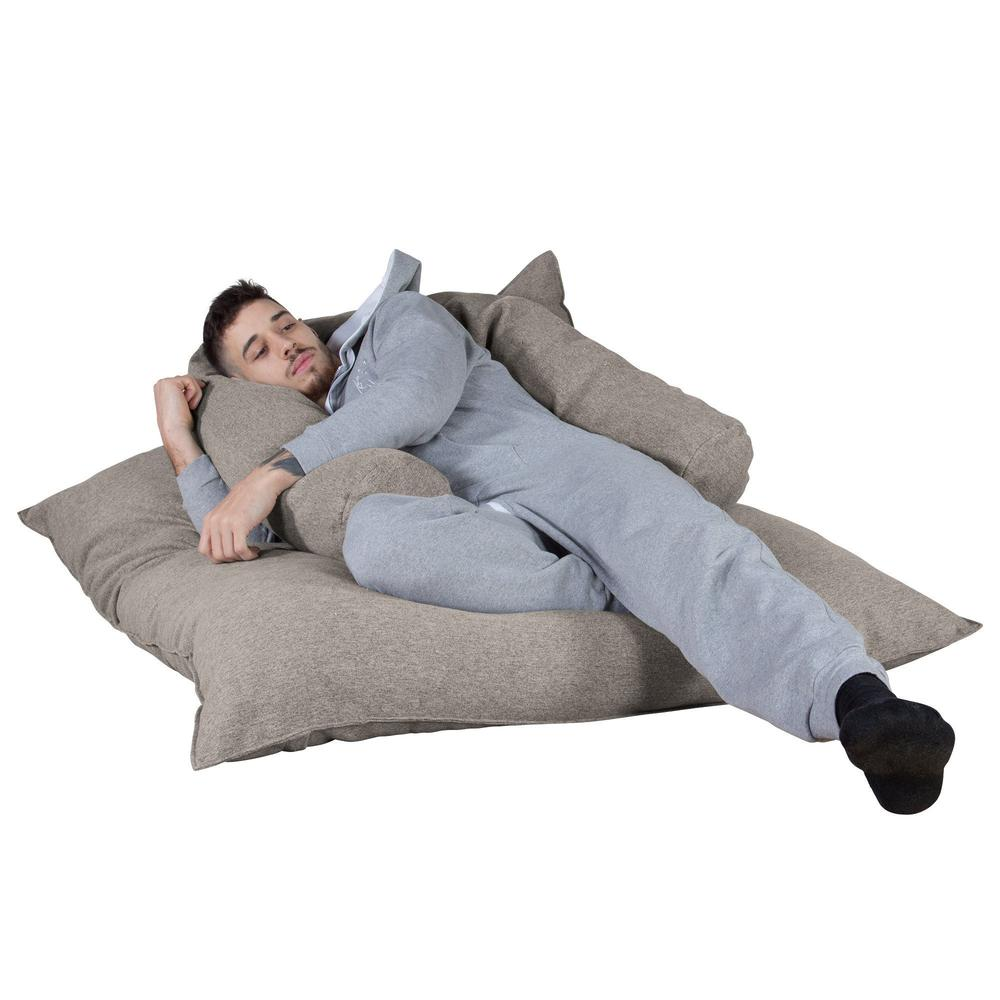 "CLOUDSAC-""The-Floor-Cushion""-(450-L)-Memory-Foam-Bean-Bag-Interalli-Wool-Silver_3"