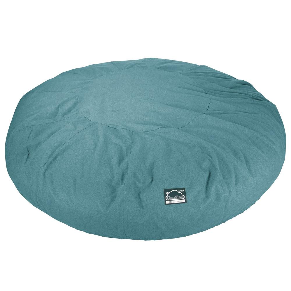 CloudSac-5000-XXXXXL-A-Titanic-Memory-Foam-Bean-Bag-Sofa-Interalli-Wool-Aqua_6