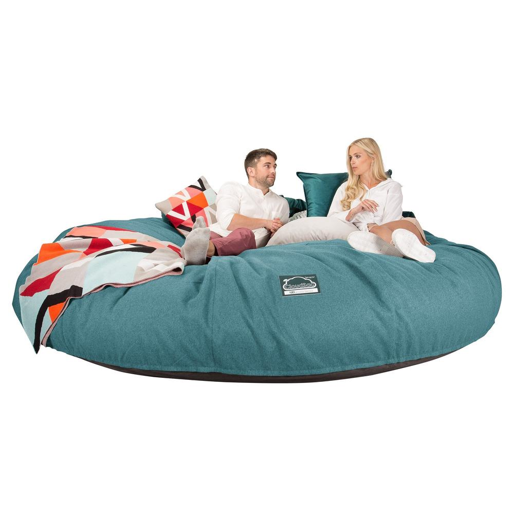 CloudSac-5000-XXXXXL-A-Titanic-Memory-Foam-Bean-Bag-Sofa-Interalli-Wool-Aqua_3