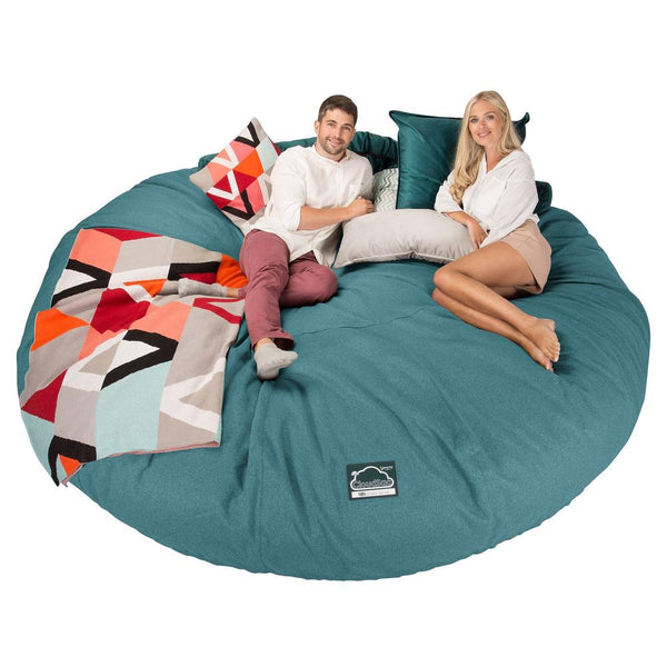 CloudSac-5000-XXXXXL-A-Titanic-Memory-Foam-Bean-Bag-Sofa-Interalli-Wool-Aqua_1