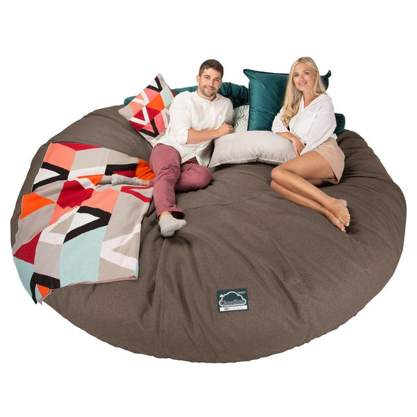 CloudSac-5000-XXXXXL-A-Titanic-Memory-Foam-Bean-Bag-Sofa-Interalli-Wool-Biscuit_1