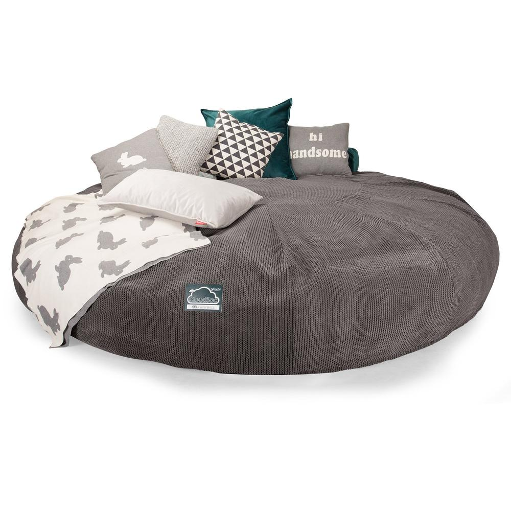 CloudSac-5000-XXXXXL-A-Titanic-Memory-Foam-Bean-Bag-Sofa-Pom-Pom-Charcoal-Grey_4